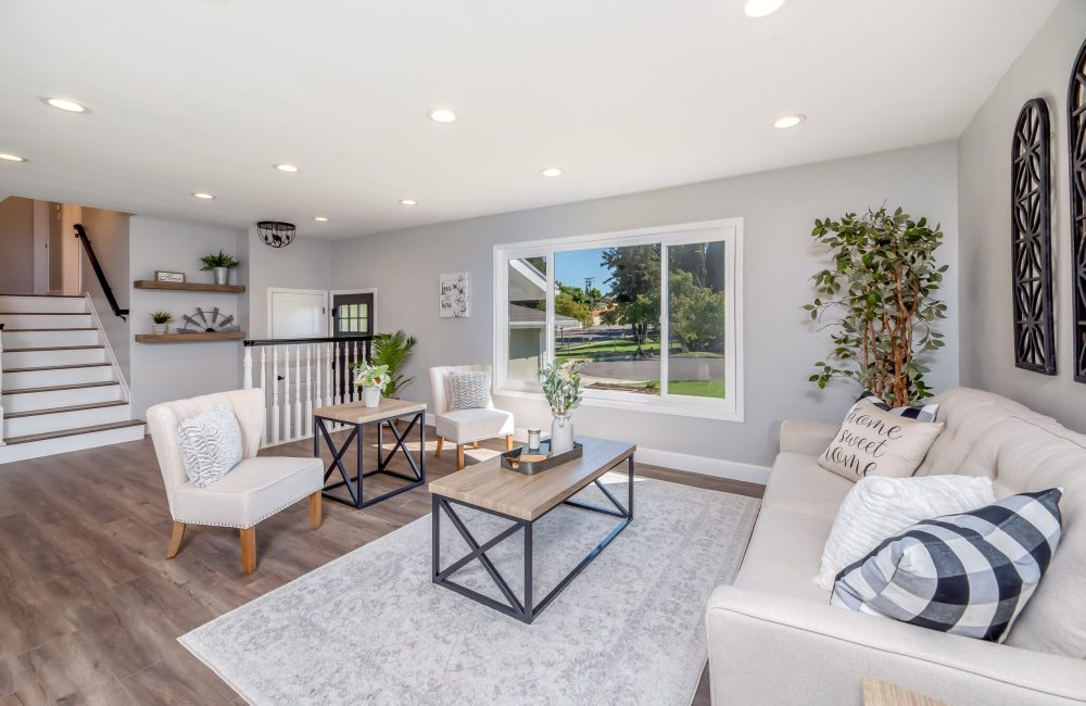 A Staged Home