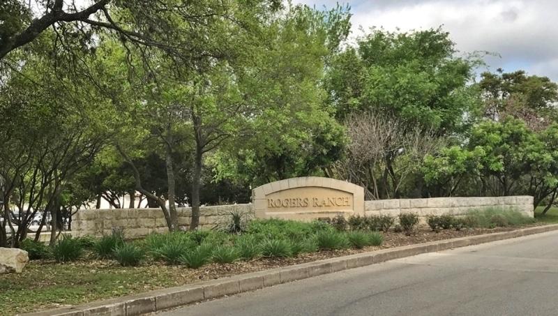 Rogers Ranch Neighborhood in San Antonio, Texas